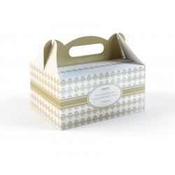 Pudełka na Ciasto Złote