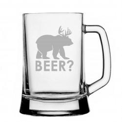 Kufel z grawerem - Beer?