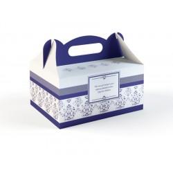 Pudełka na Ciasto Granatowe