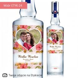"""Etykieta na butelkę """"Różowy..."""