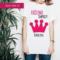 Koszulka - Królowa imprezy...
