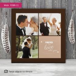 Foto obraz ślubny - Na...