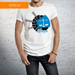 Koszulka - Waga, okrąg