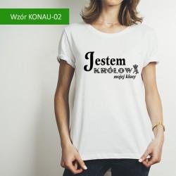 Koszulka - Jestem Królową...