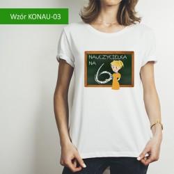 Koszulka - Nauczycielka na 6