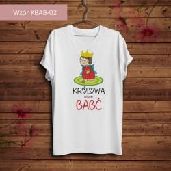 Koszulka - Królowa wśród Babć