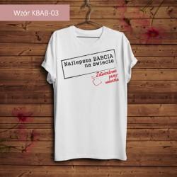 Koszulka - Najlepsza Babcia...