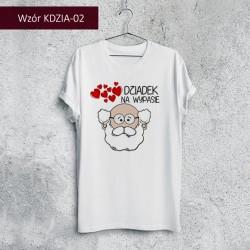 Koszulka - Dziadek na wypasie