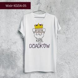 Koszulka - Król wśród Dziadków