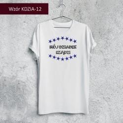 Koszulka - Mój Dziadek rządzi