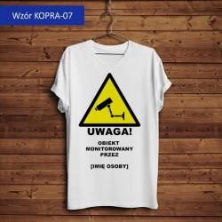 Koszulka - Uwaga! Obiekt...