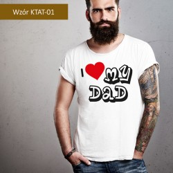 T-shirt W nocy pije wino a...