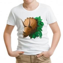 T-shirt dziecięcy Dinozaury