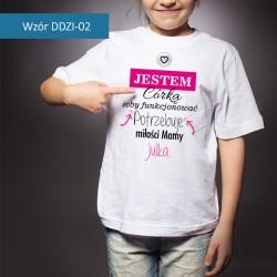 Koszulka - Jestem Córką