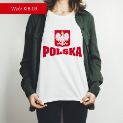 Koszulka - Godło z podpisem
