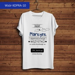 Koszulka - Jeżeli marzysz...