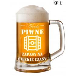 Kufel z grawerem - Piwne...
