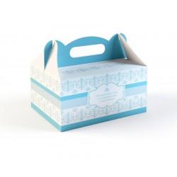 Pudełka na Ciasto Niebieskie